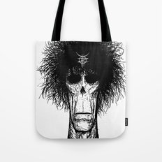 Zed Mercury: Psychopomp, portrait Tote Bag