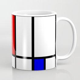 Mondrian #63 Coffee Mug