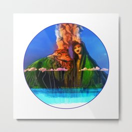 I have a lava dream Metal Print