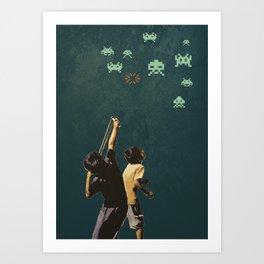 Invaders! Art Print