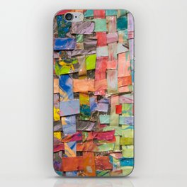 Paint Quilt iPhone Skin