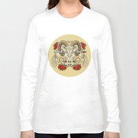 aries Long Sleeve T-shirts featuring Aries by StudioBlueRoom