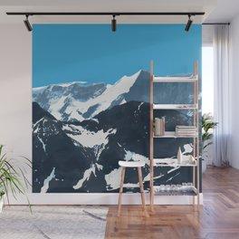 swiss mountains Wall Mural