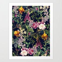 Midnight Forest VII Art Print