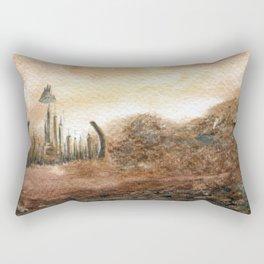 Familiar Places Rectangular Pillow