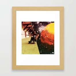 skate Framed Art Print