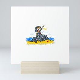 Super Smash Sister Mini Art Print