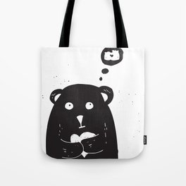 Dreamy bear Tote Bag