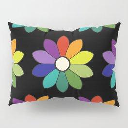 Flower pattern based on James Ward's Chromatic Circle (enhanced) Pillow Sham