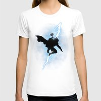 returns T-shirts featuring The Thunder God Returns by Six Eyed Monster