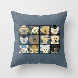 Teddy Bears Throw Pillow