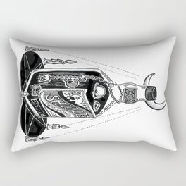 Devil's Moonshine Rectangular Pillow