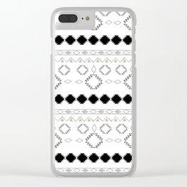 Tribal Boho Pattern Chic #1 #aztec #decor #art #society6 Clear iPhone Case