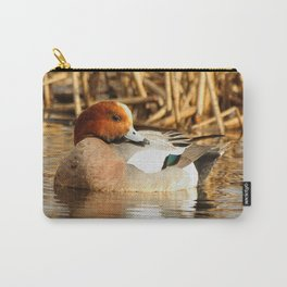 Eurasian Wigeon at the Pond Carry-All Pouch