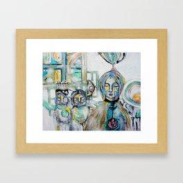 Hello Girl Framed Art Print