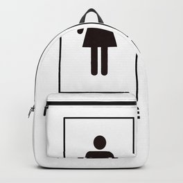 Sexy Woman Backpack