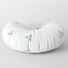 white christmas Floor Pillow
