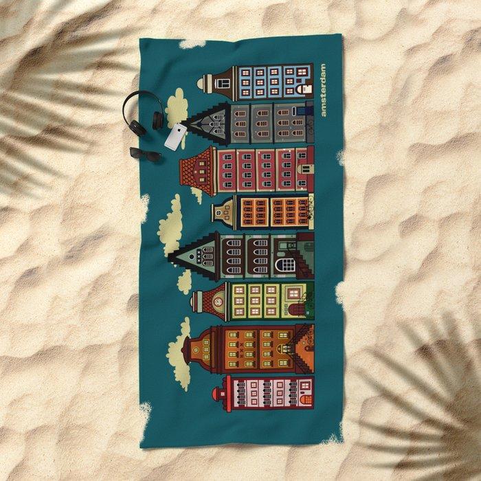 Amsterdam Beach Towel
