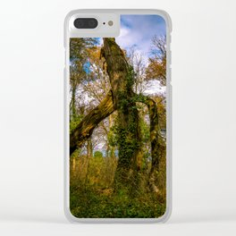 Forest guard Clear iPhone Case