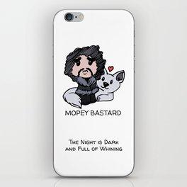 Mopey Bastard iPhone Skin