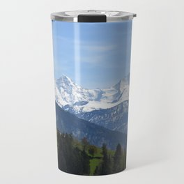 Eiger Bernese Oberland Switzerland Travel Mug
