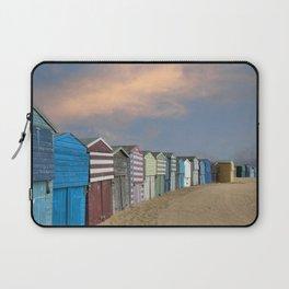 Beach Huts in Broadstairs Laptop Sleeve