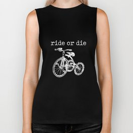 Ride or Die Tricycle Biker Tank