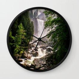Yosemite Waterfall Wall Clock