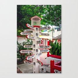 Where to Next? Canvas Print