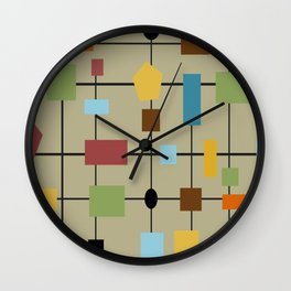 Modern Art Abstract 29/2 Wall Clock