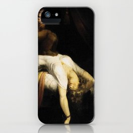 Henry Fuseli The Nightmare iPhone Case
