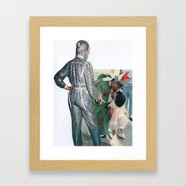 Space Pope, Coast To Coast Framed Art Print