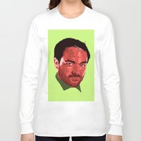 crowley Long Sleeve T-shirts featuring Crowley Vector by Evelyn Denise