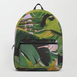 Banana Leaves I (Lavender) Backpack