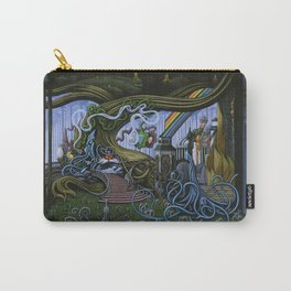 Existing Only In The Light Carry-All Pouch