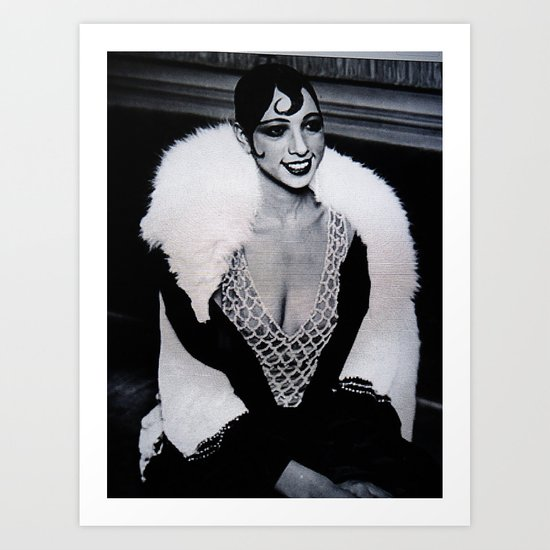 Josephine Baker the Original Flapper and Diva Art Print