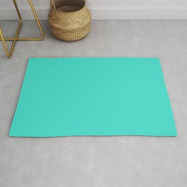 Turquoise - Solid Color Collection Rug