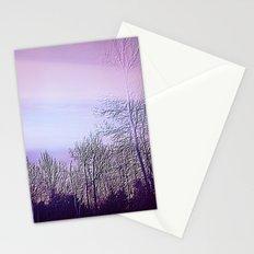 Lavender Dusk Landscape Stationery Cards