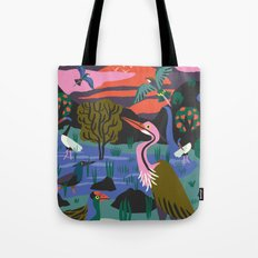 Bird Reserve Tote Bag