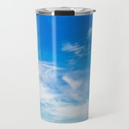 The Great Blue Sky Travel Mug