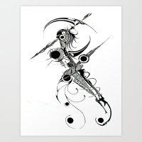 Alien Reaper Art Print