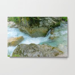 Mountain water Metal Print