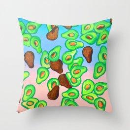 California Avocados Throw Pillow