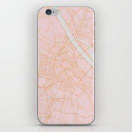 Vienna map iPhone Skin