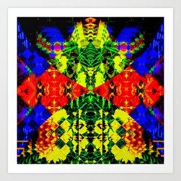 Fourspace Art Print