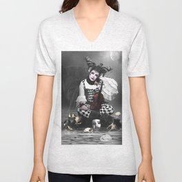 Multifaceted Woman Unisex V-Neck