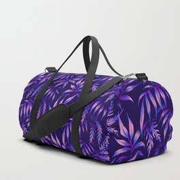 Brooklyn Forest - Purple Duffle Bag