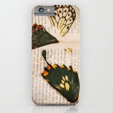 Words like butterflies Slim Case iPhone 6s