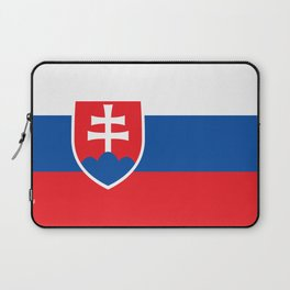 Flag of Slovakia, High Quality Image Laptop Sleeve