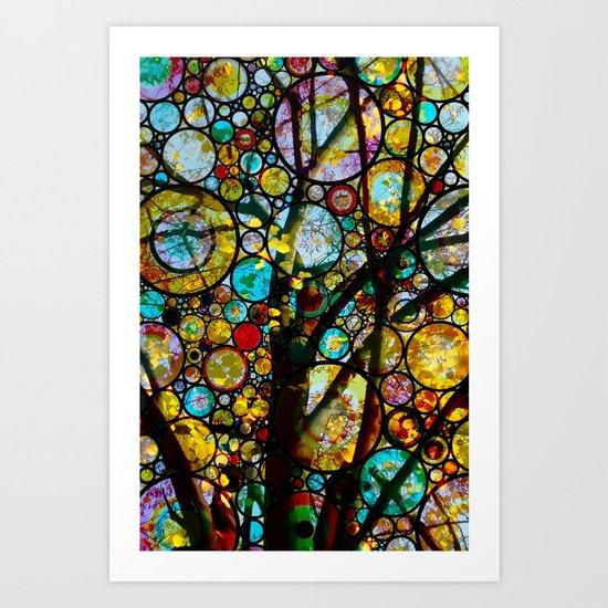 Fairy Tale Tree Art Print